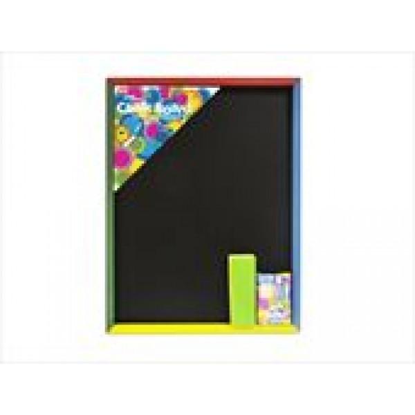 CHALK BOARD Lge W/Chalk+Duster