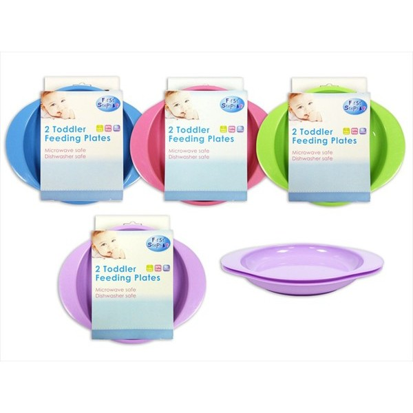 TODDLER PLATES 4/cols (Pack/2)