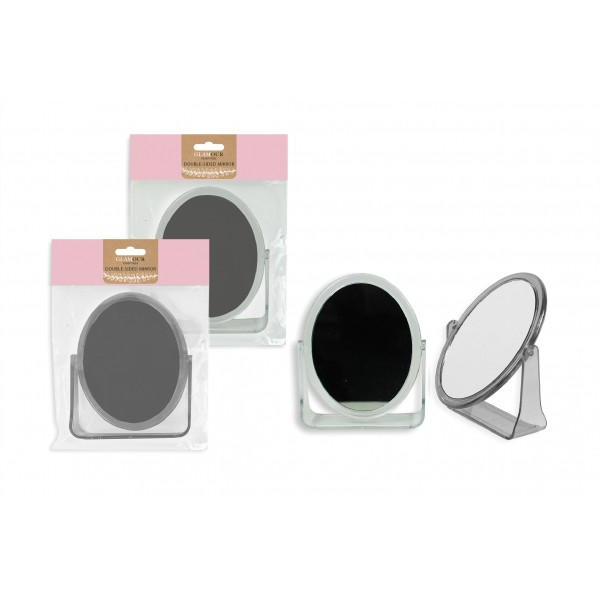 Glamour Essentials DOUBLE SIDED COSMETIC MIRROR