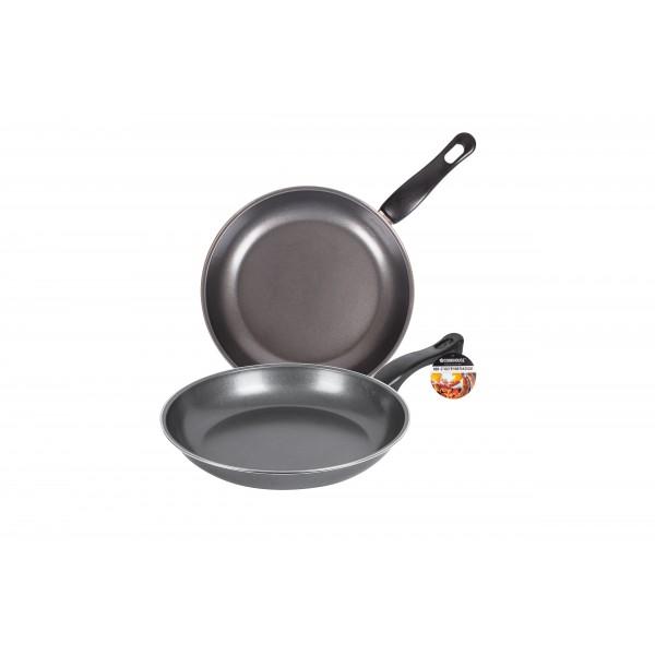 NON-STICK FRYING PAN 26CM GREY