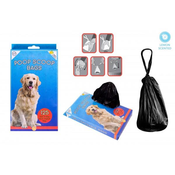 World of pets DOG POOP BAGS 125 PACK