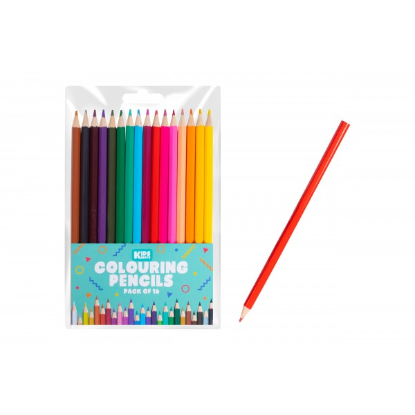 Oodles 16 COLOURING PENCILS