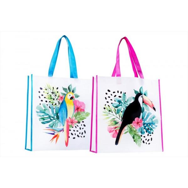 Shopping/Beach Bag 38x38x10cm 2 Designs AM1011