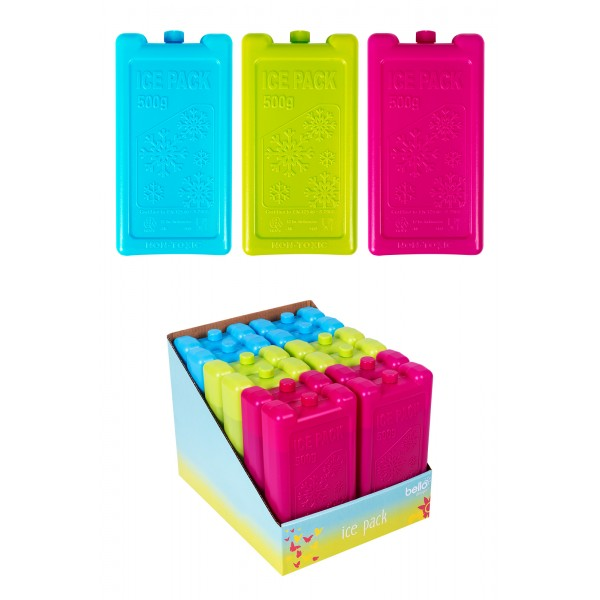 Bello FREEZER BLOCK 3 COLOURS 500G