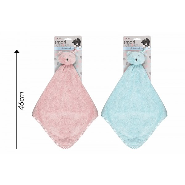 Soft Puppy Comforter Two Assorted Colours