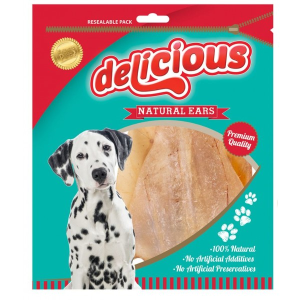 World of pets NATURAL EARS 3 PACK