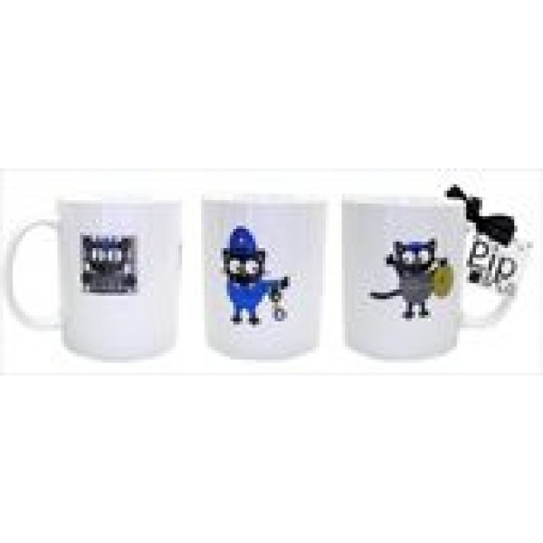 Pip Burglar Design Single Mug