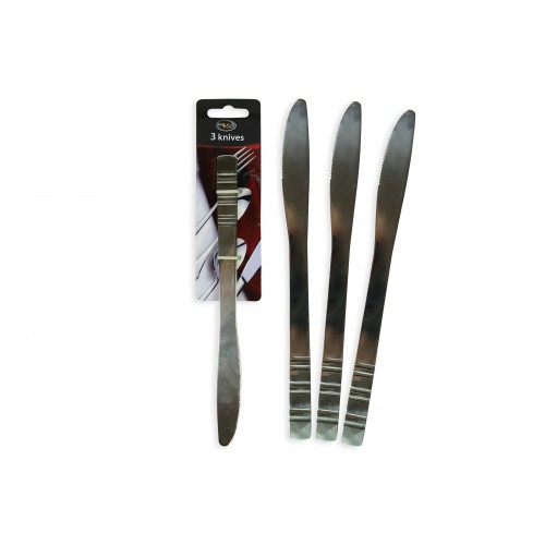 Royle Home STAINLESS STEEL KNIVES 3 PACK