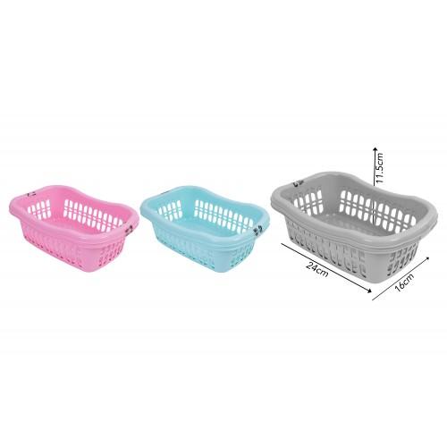 Brights Kitchenware MINI STORAGE BASKET24X16.5X11.5CM  2 PACK