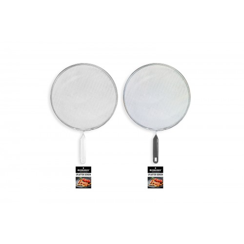 CookHouse FOOD SPLATTER SCREEN 24CM 2 ASSORTED COLOURS