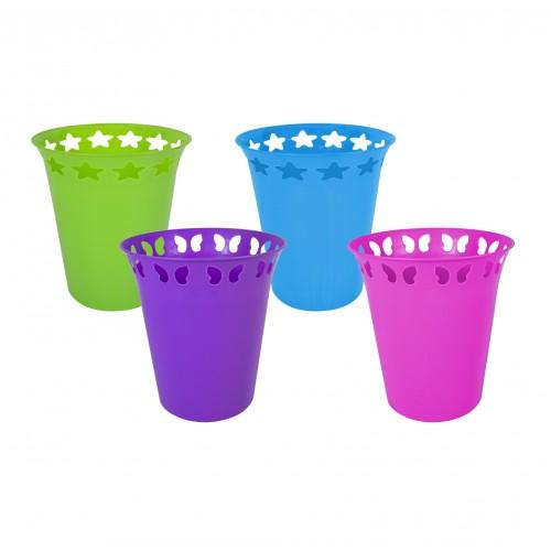 Brights Kitchenware WASTE PAPER BINS 2 ASSORTED DESIGNS