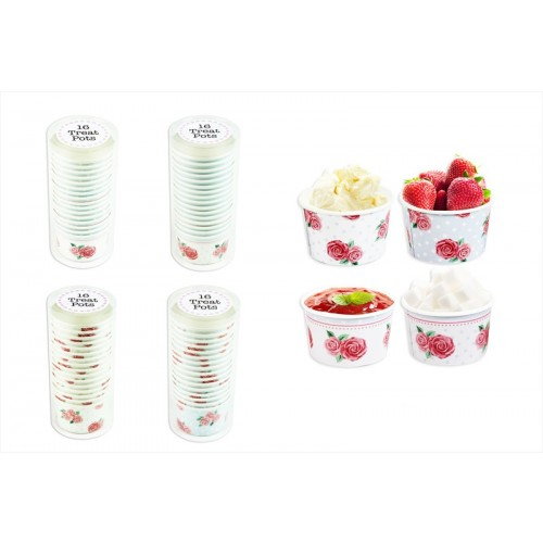 RSW AFTERNOON TEA SERVING/TREAT POT 16 PACK