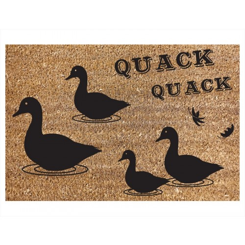 RSW  COIR DOOR MAT DUCK DESIGN 40X60CM