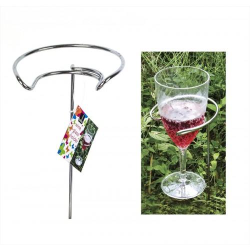 METAL WINE GLASS HOLDER