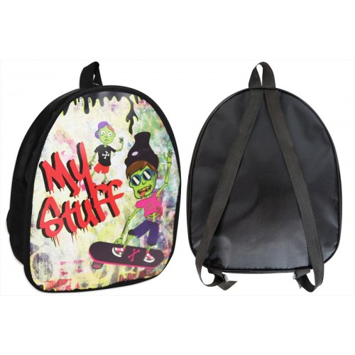 RSW KIDS ZOMBIE DESIGN SCHOOL BACK PACK 29X10X24CM