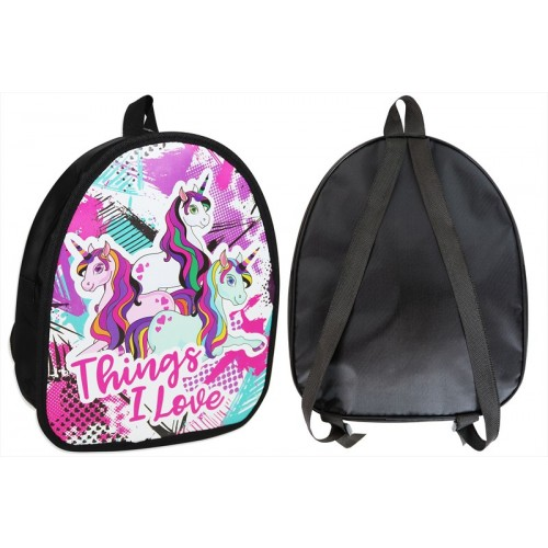 RSW KIDS BACK PACK FUNKY UNICORN DESIGN 29X10X24CM