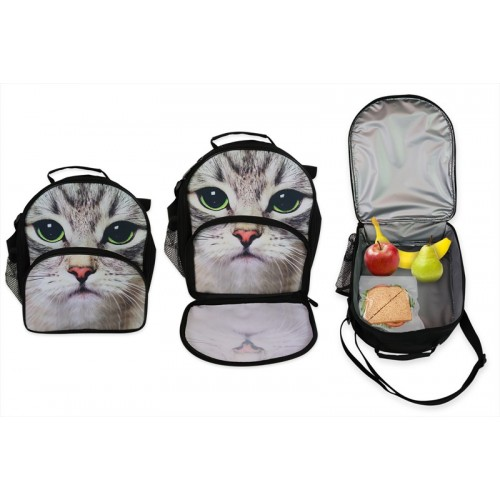 RSW CARRY INSULATED LUNCH BAG 27X22X10CM CAT DESIGN