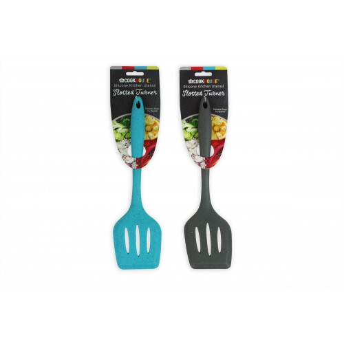 CookHouse SLOTTED TURNER SILICONE  2 ASSORTED COLOURS