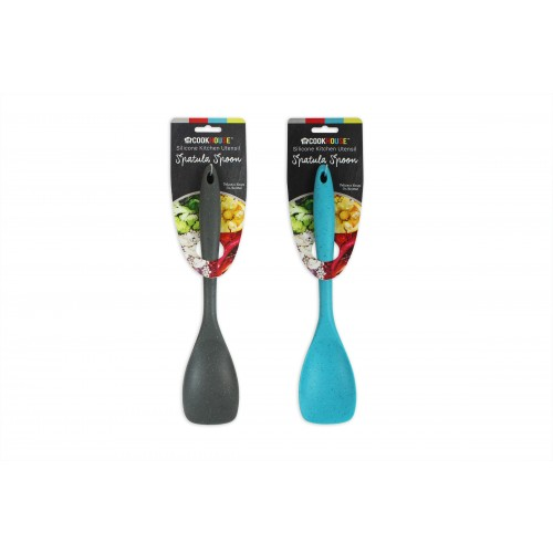 CookHouse SPATULA SPOON SILICONE 2 ASSORTED COLS