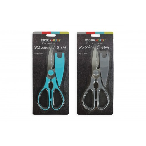 KITCHEN SCISSOR WITH BLADE COVER