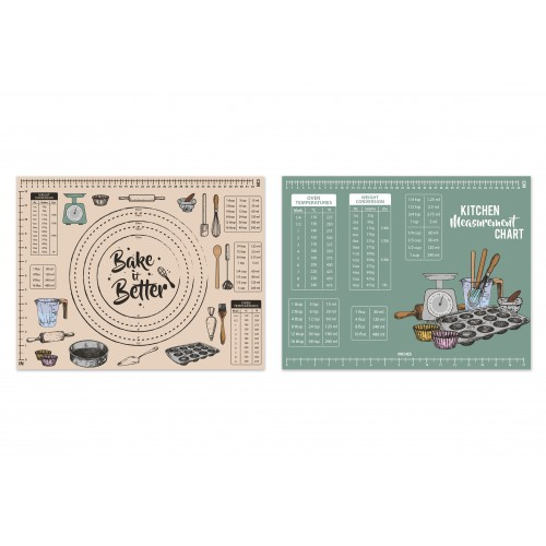 RSW PASTRY BOARD/WORK TOP SAVER 2 ASSORTED DESIGNS