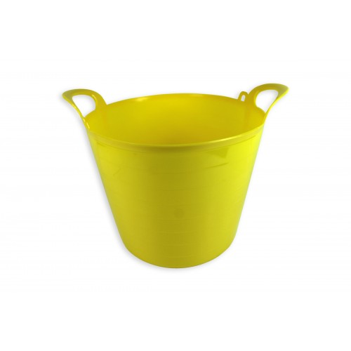 MULTI PURPOSE DURABLE FLEXI TUB 73 LITRE YELLOW