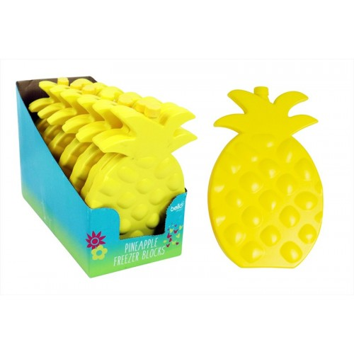 YELLOW PINEAPPLE PARTY FREEZER BLOCK COOLER