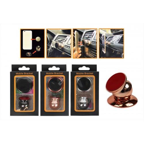 Travel Essentials MAGNET PHONE HOLDER IN ROSE GOLD, SILVER & BLACK