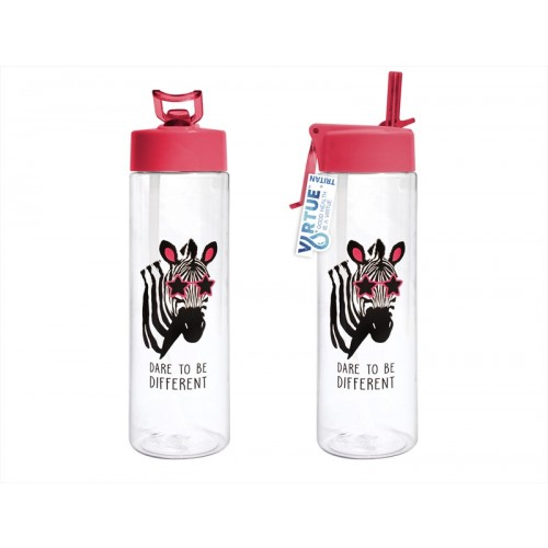 Virtue HYDRATION DRINKING BOTTLE 600ML ZEBRA