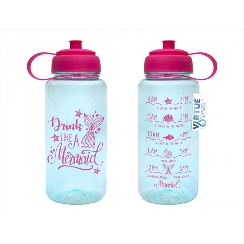 Virtue HYDRATION DRINKING BOTTLE 1L MERMAID