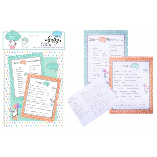 First Steps BABY SHOWER  GAME SET 24 PACK