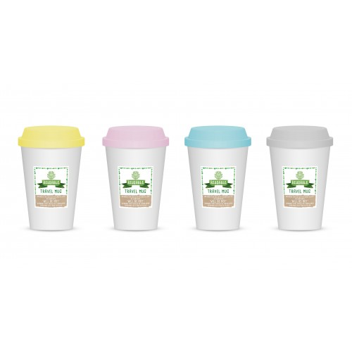 RSW REUSABLE TRAVEL MUG 4 ASSORTED 450ml