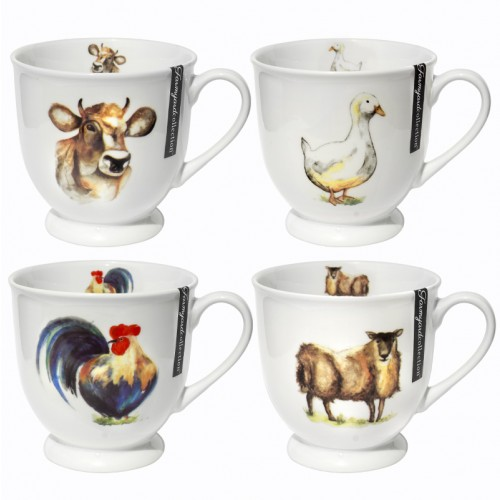 Mad About Mugs NEW BONE CHINA MUG FARMYARD COLLECTION