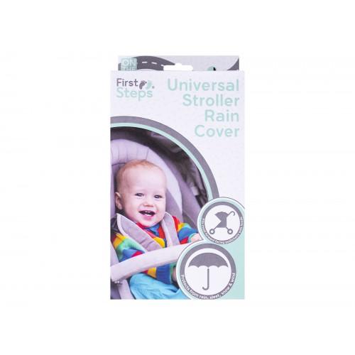 First Steps UNIVERSAL STROLLER RAIN COVER