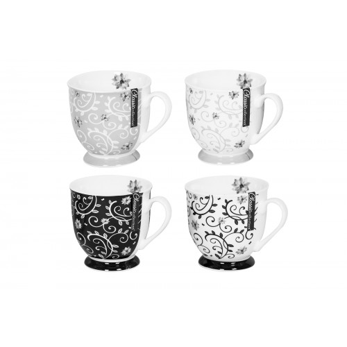 Mad About Mugs NEW BONE CHINA MUG CLASSIC COLLECTION 4 ASSORTED