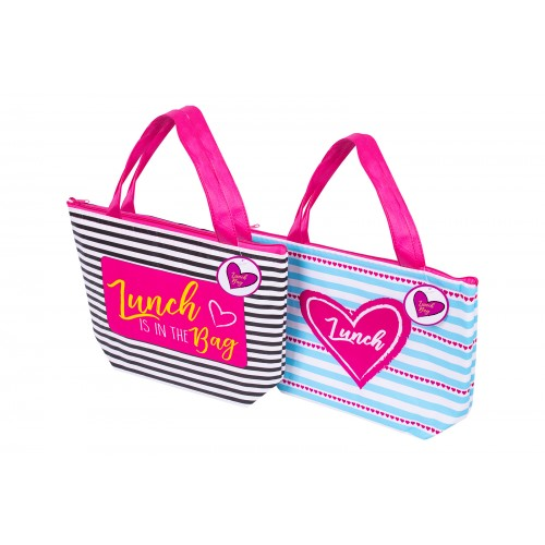 RSW NON WOVEN FOIL LINED COOLER LUNCH BAG 2 DESIGNS