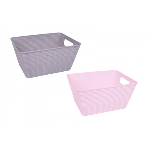 RSW SMALL BASKET WITH HANDLES 26X20.5X12.8CM