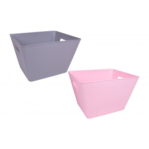 RSW LARGE BASKET WITH HANDLES 35X28X22.5CM