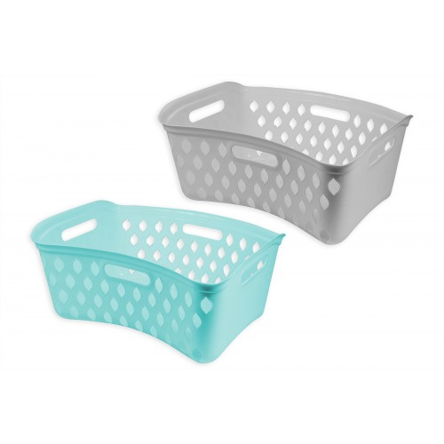 RSW LAUNDRY HIPSTER 55X41X26CM 2 ASSORTED COLOURS