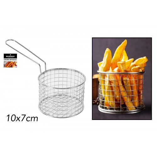 CookHouse SERVING CHIP BASKET 10X7CM