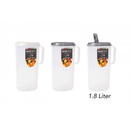 CookHouse FRIDGE DOOR JUG 1.8L 3 ASSORTED COLOURS