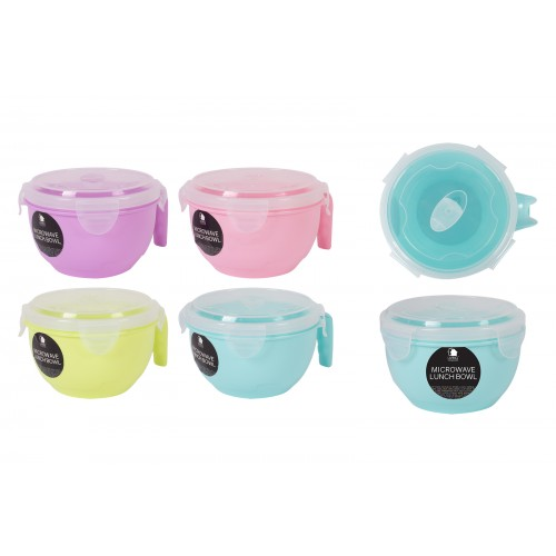 Living Colour MICROWAVE LUNCH BOWL WITH LID 800ML